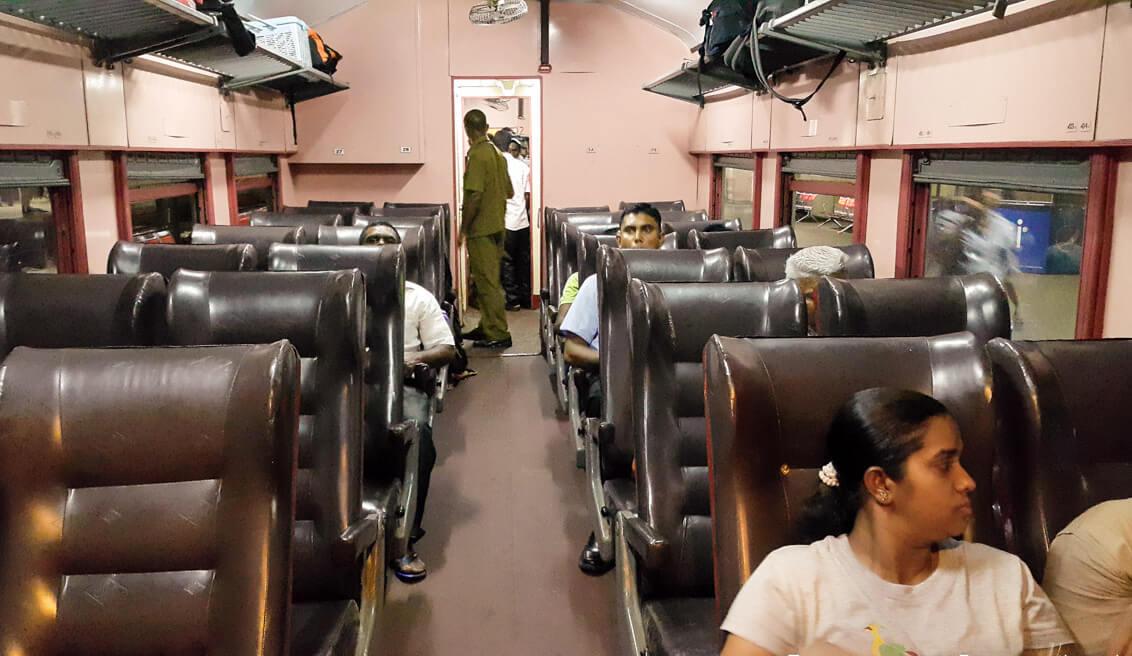 В поезде из Коломбо в Тринкомали