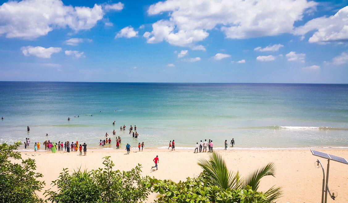 Пляж Нилавели