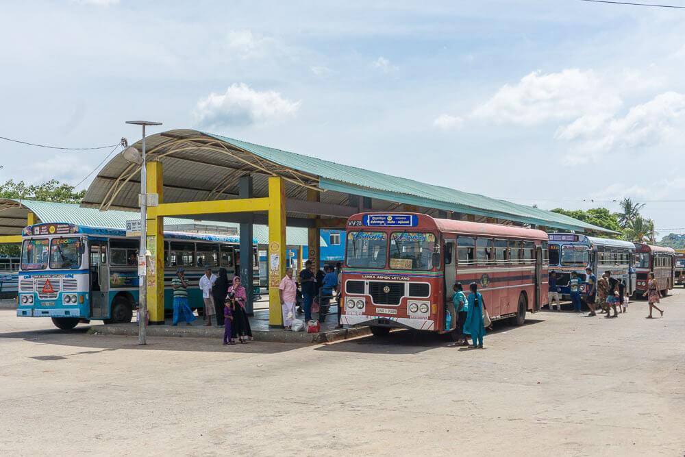 Автостанция Тринкомали