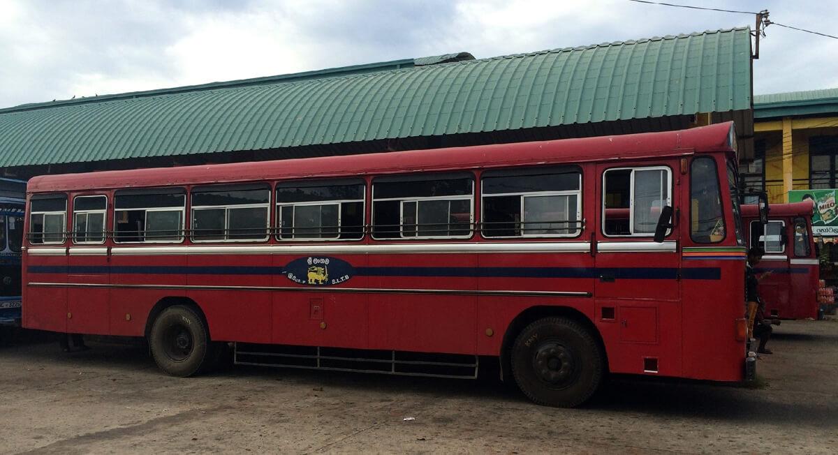 Автобус до Тринкомали