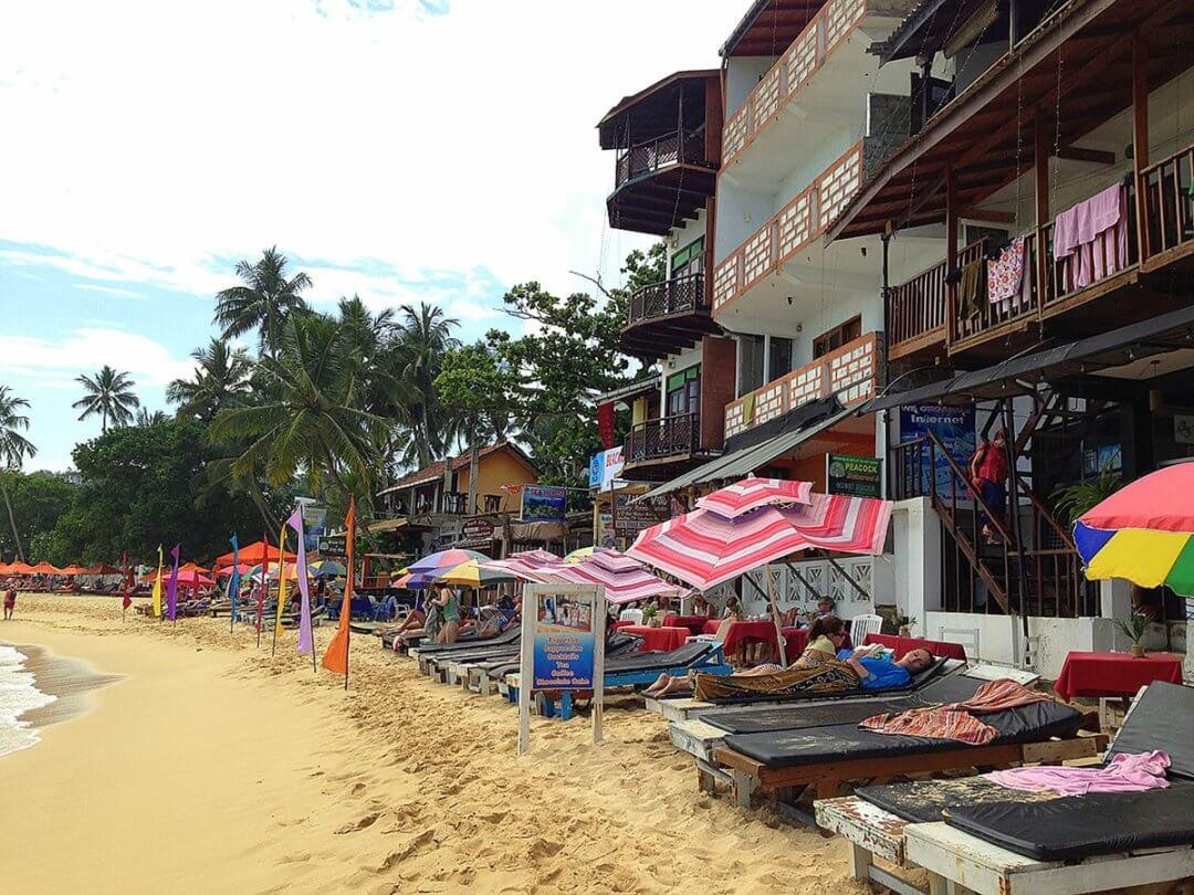 Центральная часть пляжа Лонг Бич