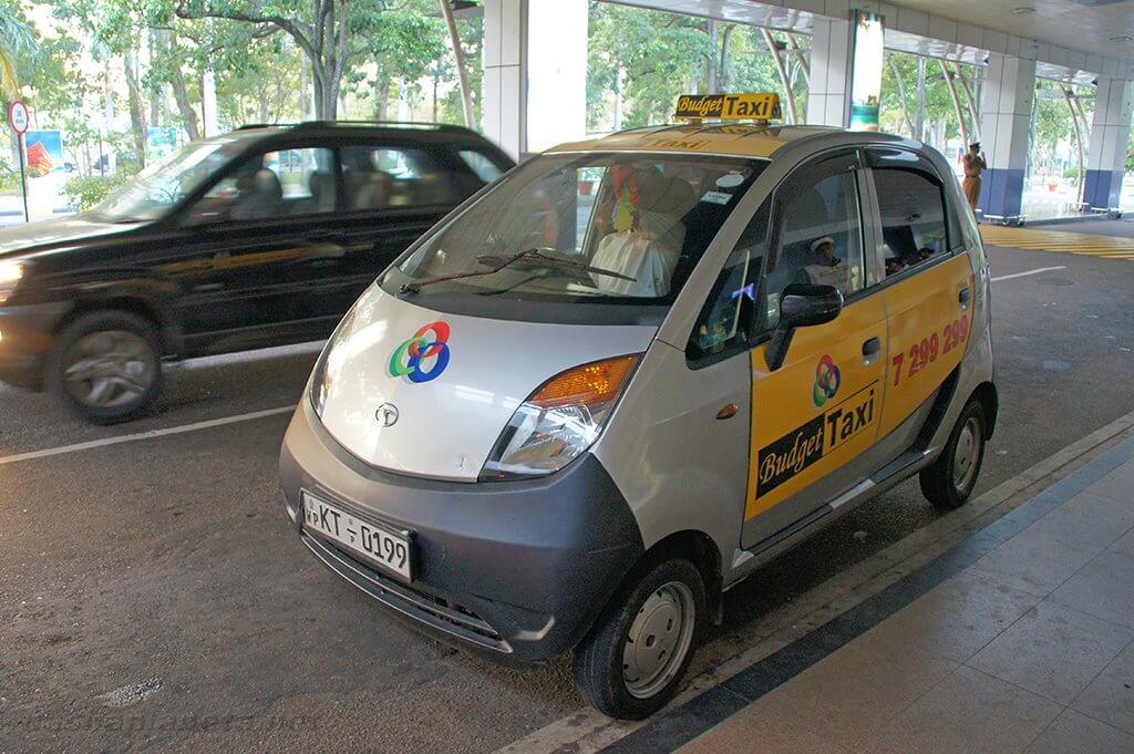 Такси в аэропорту Коломбо