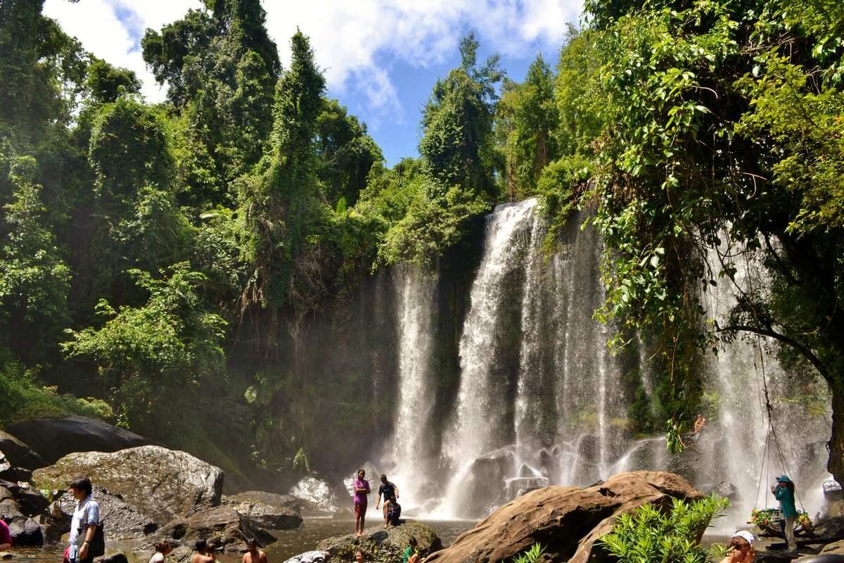 Водопад Пном Кулен, Камбоджа