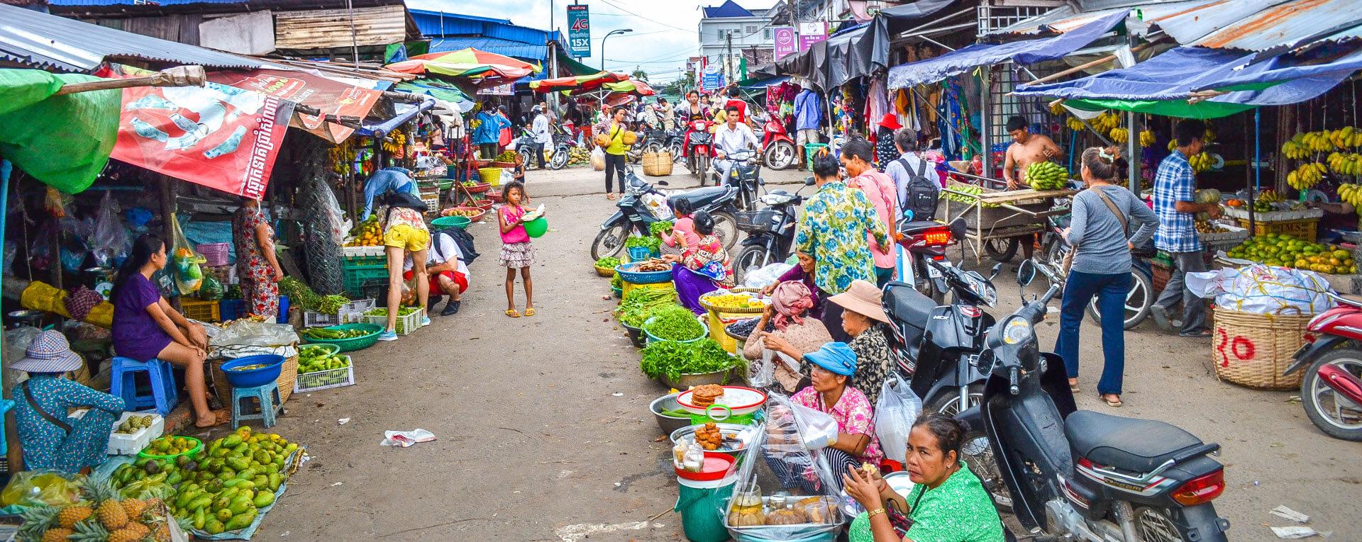 Рынок Phsar Leu