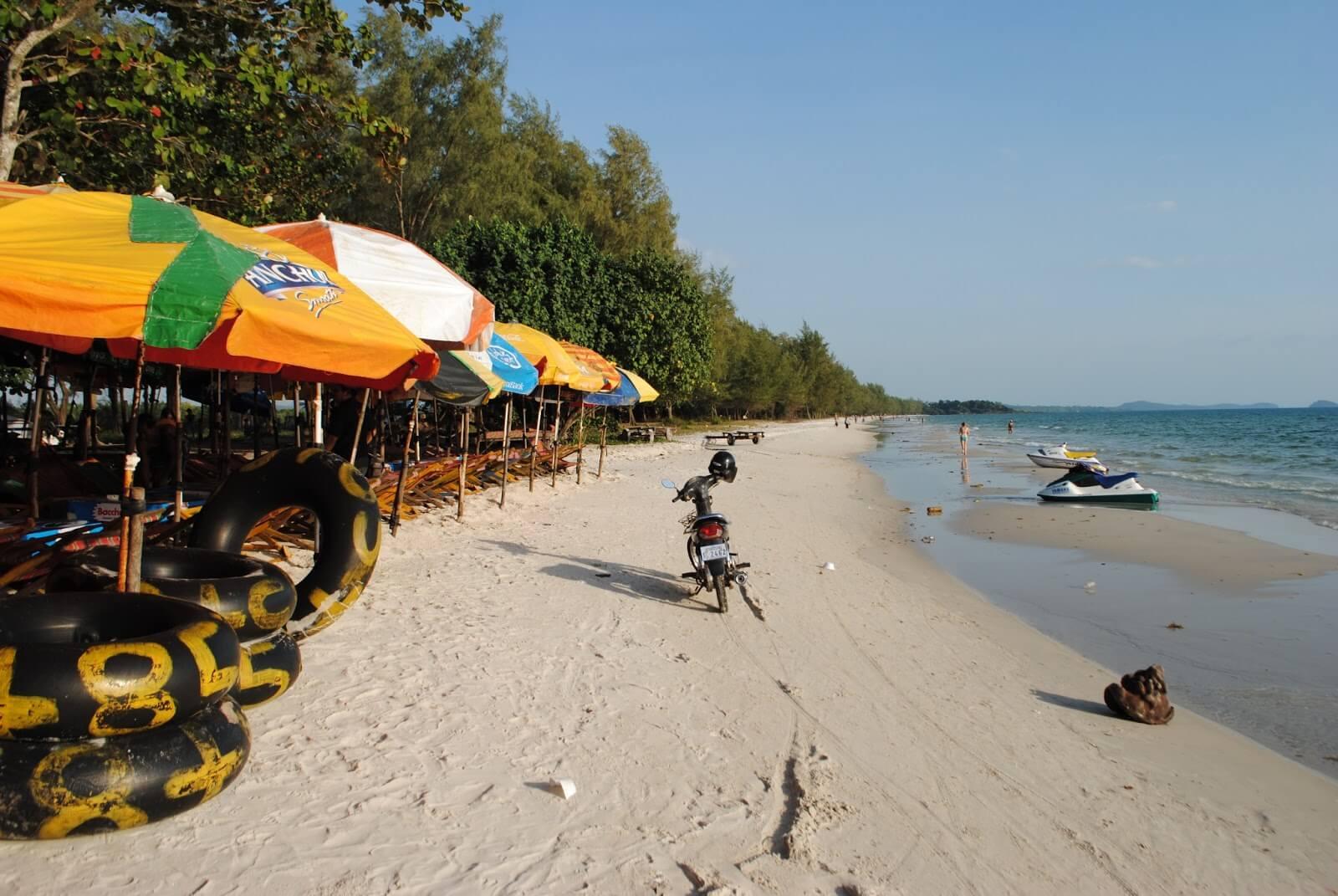 Пляж Очутел в Сиануквиле