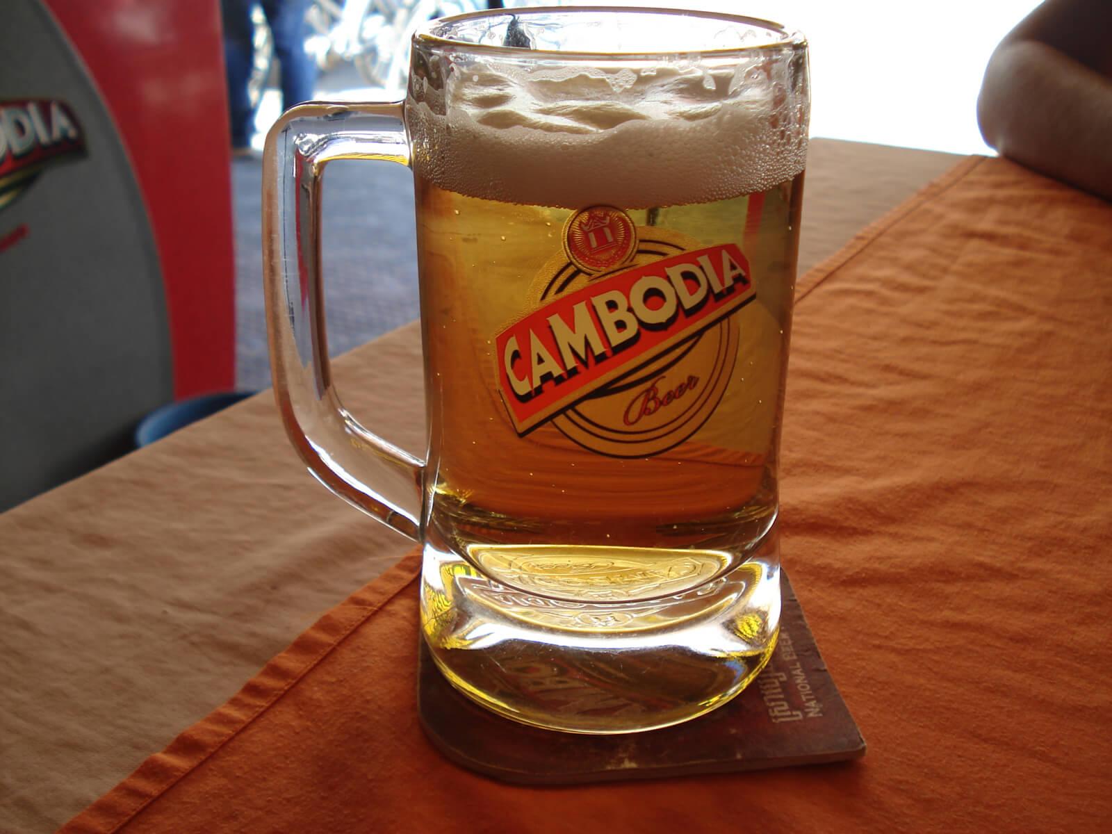 Местное пиво за 50 центов
