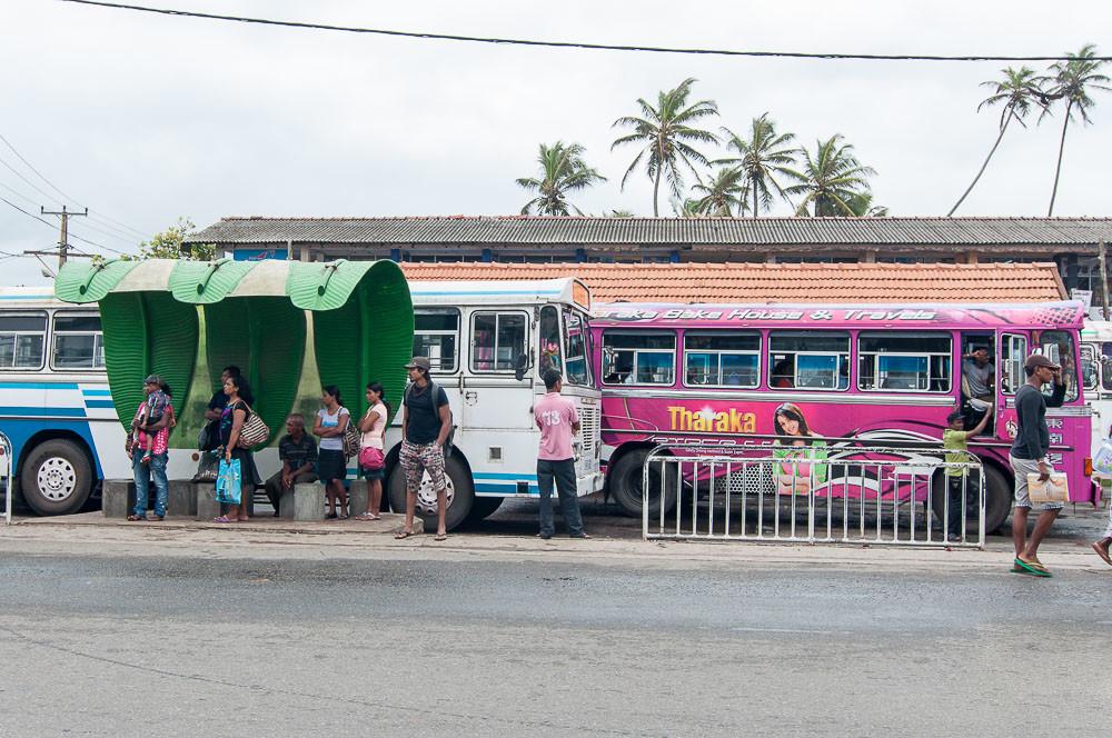 Автобусная станция Хиккадува
