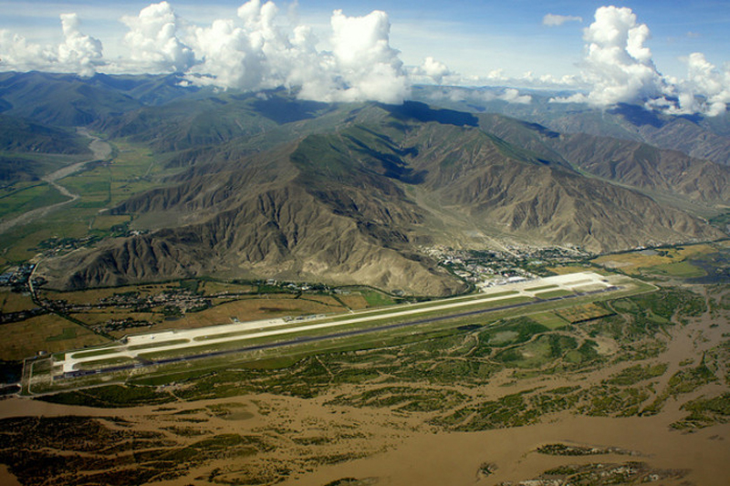 Аэропорт Бамда в Китае