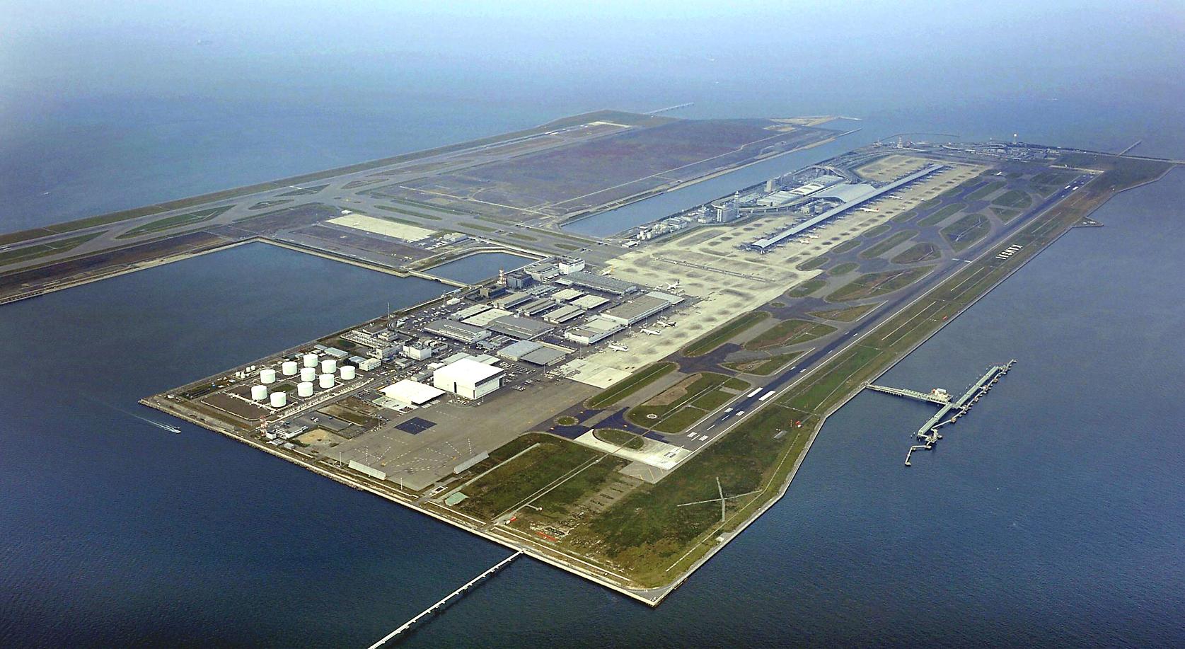 Аэропорт Кансай, Япония