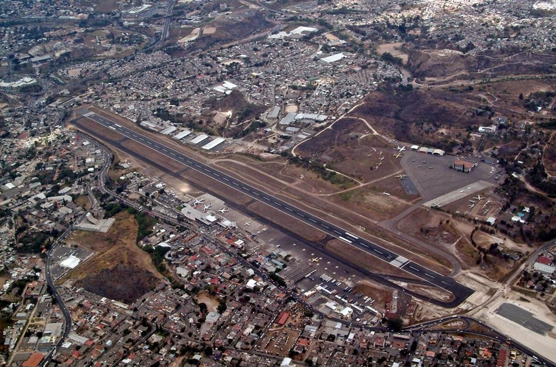 Аэропорт Тонкотин в Гондурасе