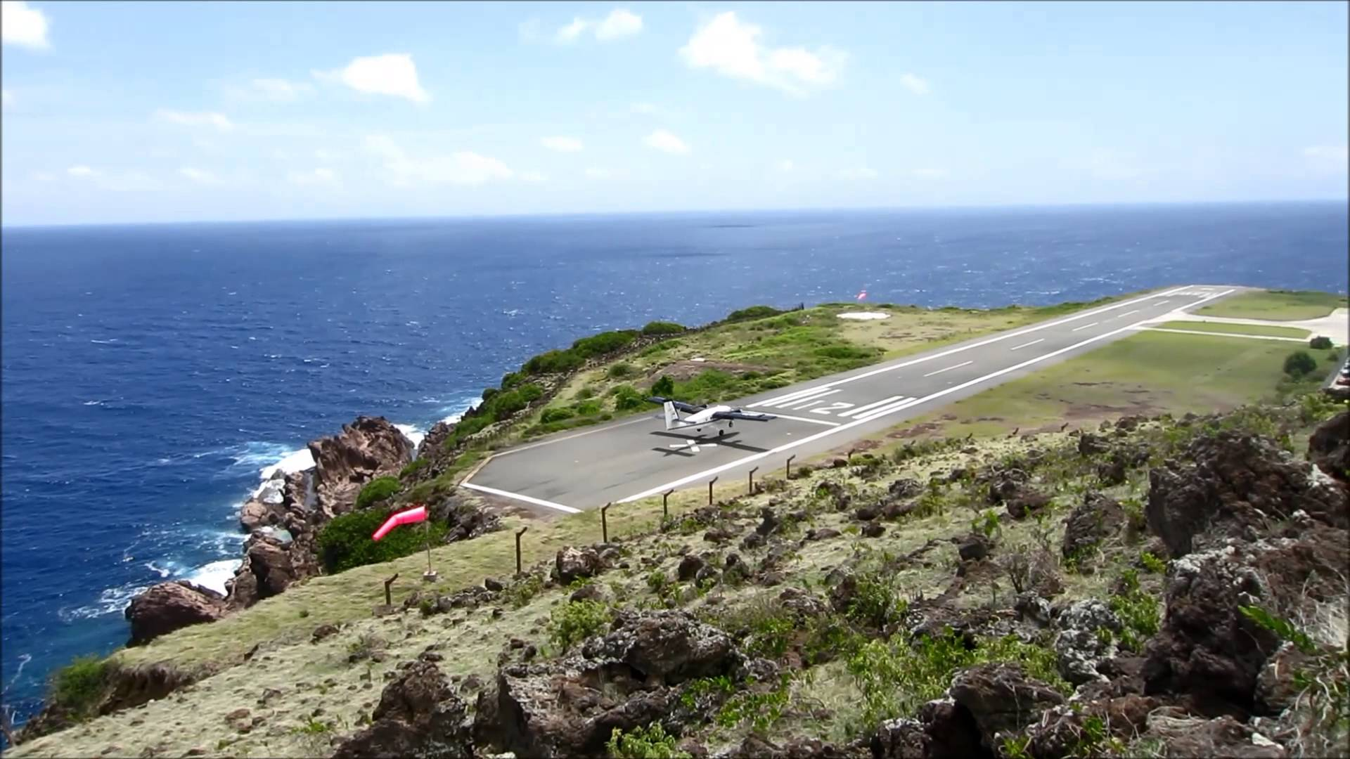 Аэропорт Хуанчо-Ираускин, остров Саба