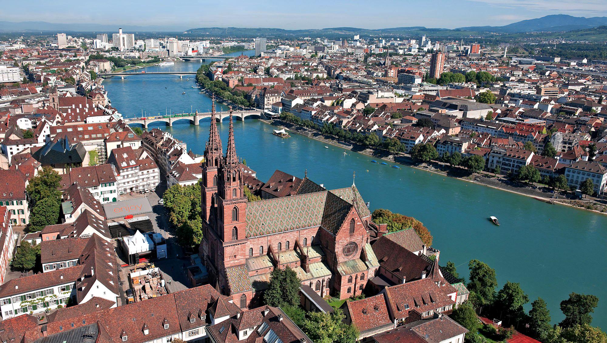 Фото: швейцарский город Базель
