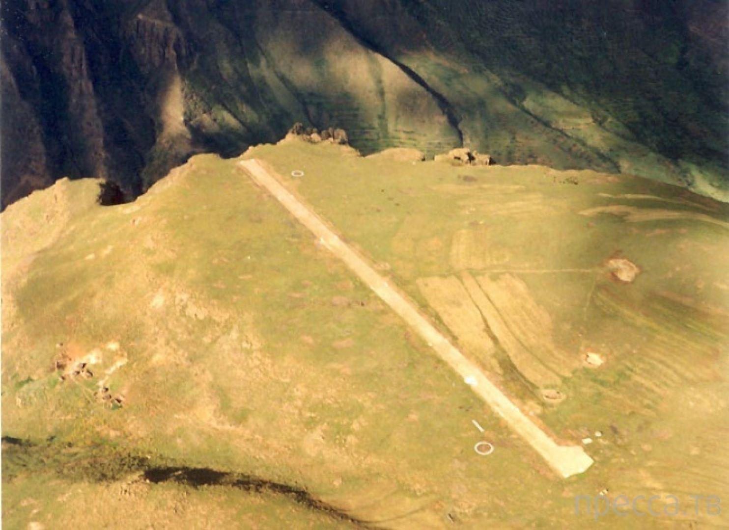Взлётно-посадочная полоса Матекане в Королевстве Лесото