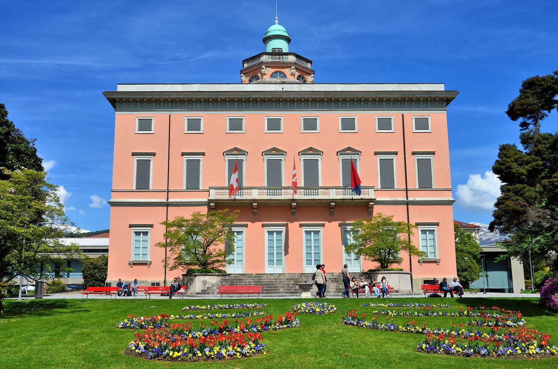 Вилла Чиани в которой располагается городской Художественный музей