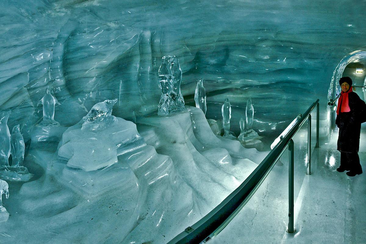 В ледовом дворце в Юнгфрауйох
