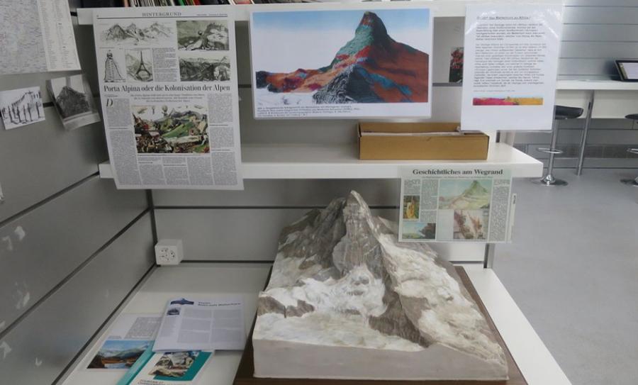 В музее Matterhorn Museum