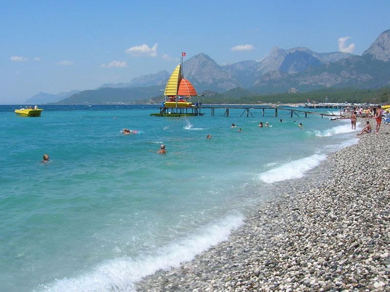 Городской пляж Кемера