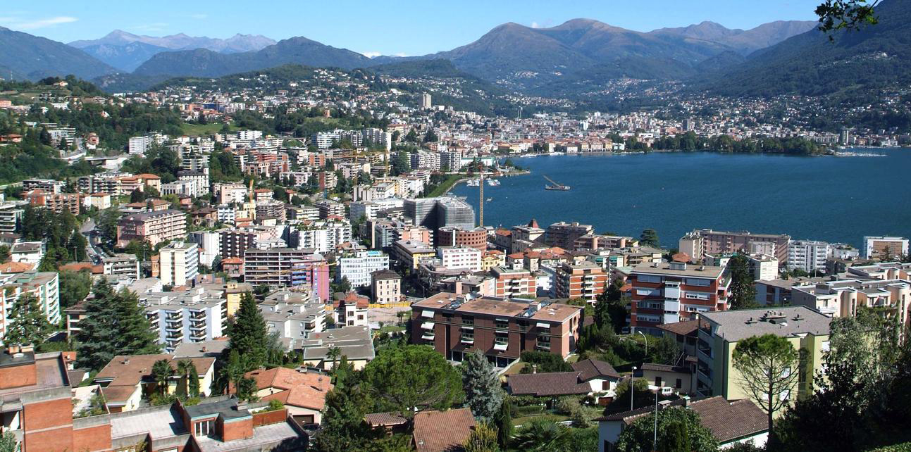 Город Лугано, Швейцария