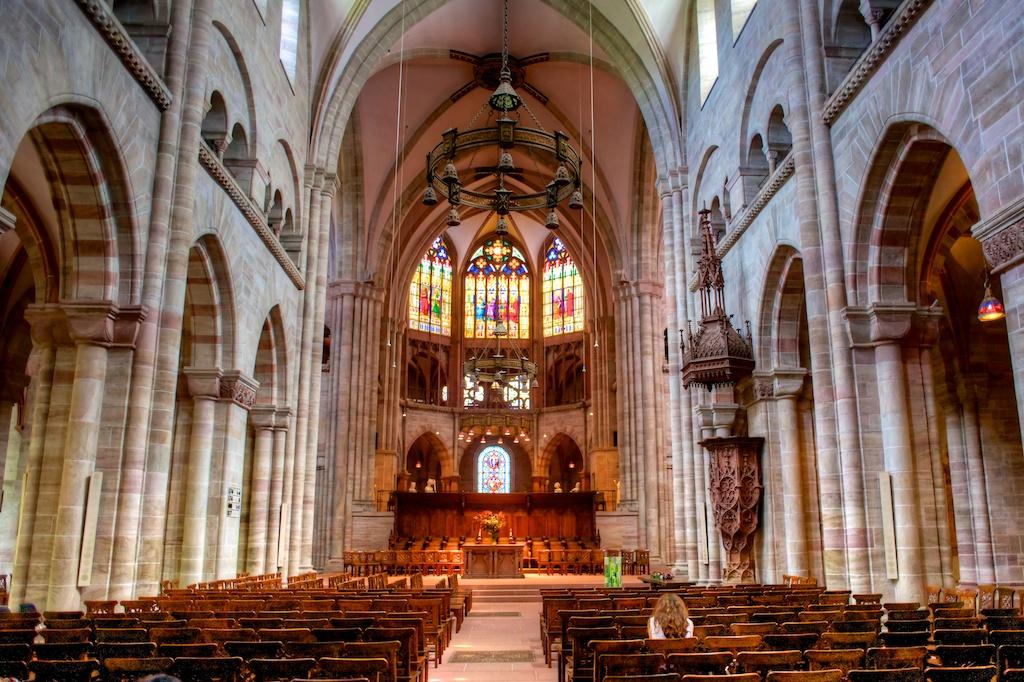 Интерьер Мюнстерского собора