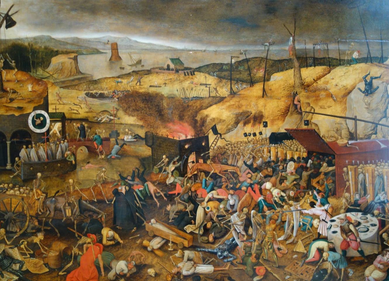 Картина в музее изобразительных искусств Базеля
