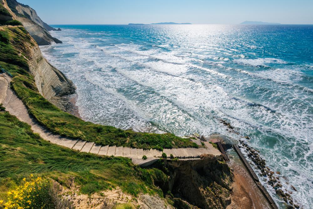 Лестница к пляжу Перуладес