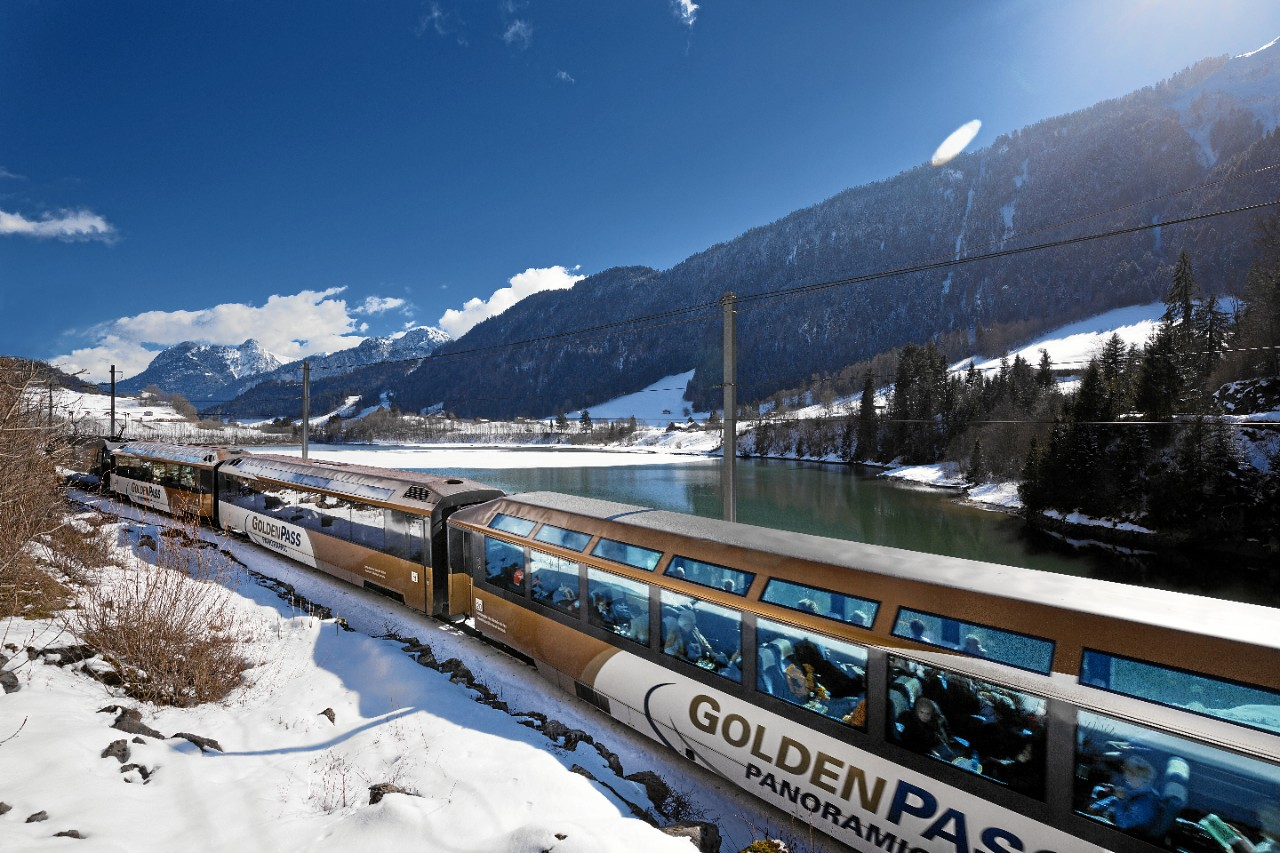 Маршрут Золотой перевал (Golden Pass)