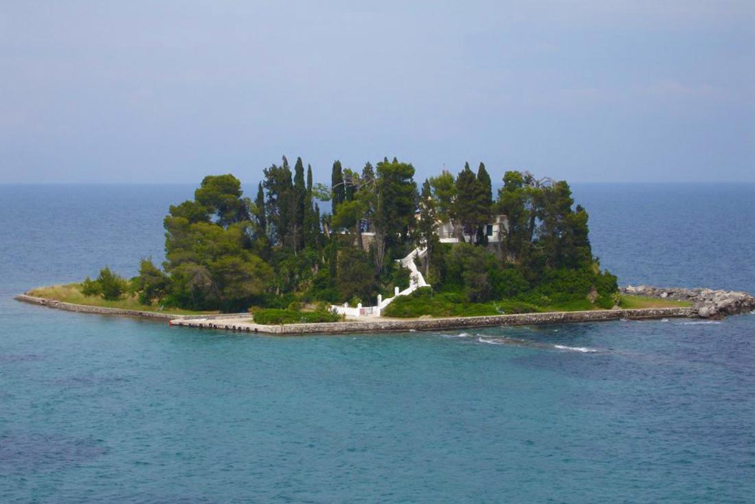 Остров Понтикониси - Мышиный остров