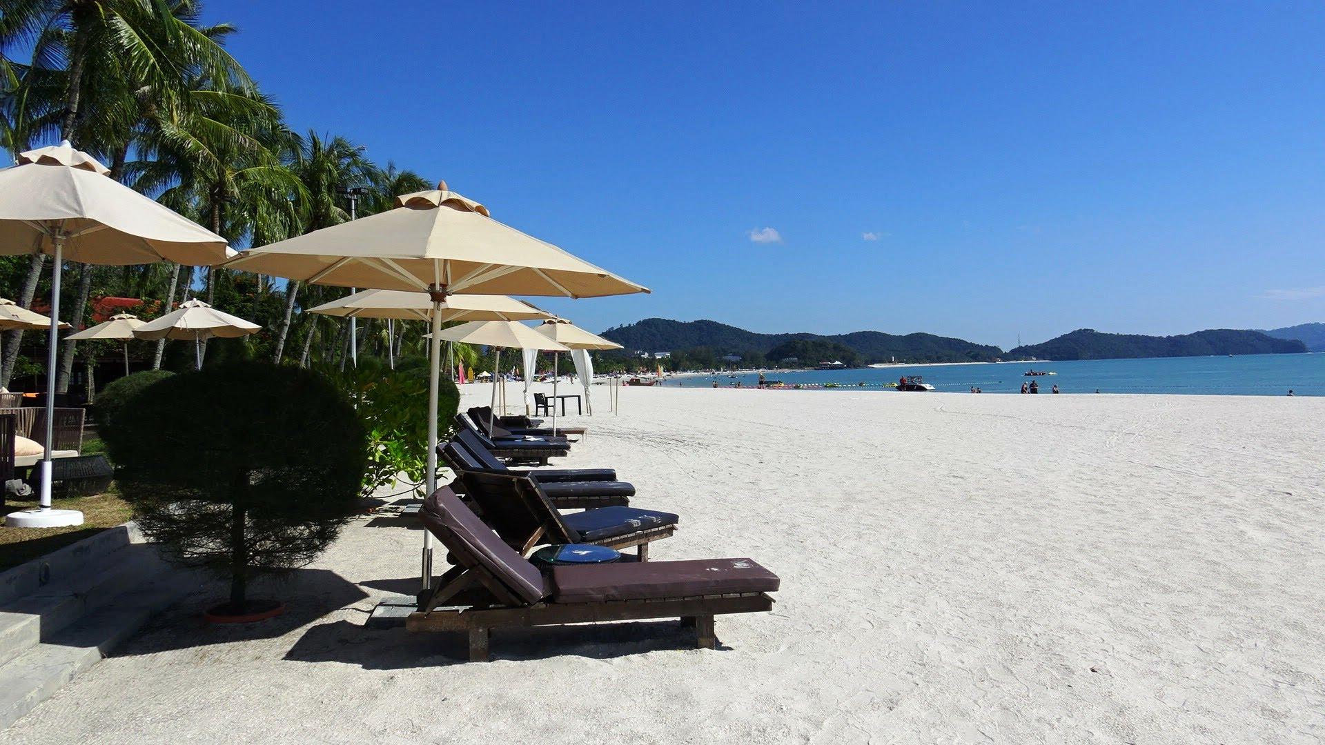 Отдых на пляже Малайзии