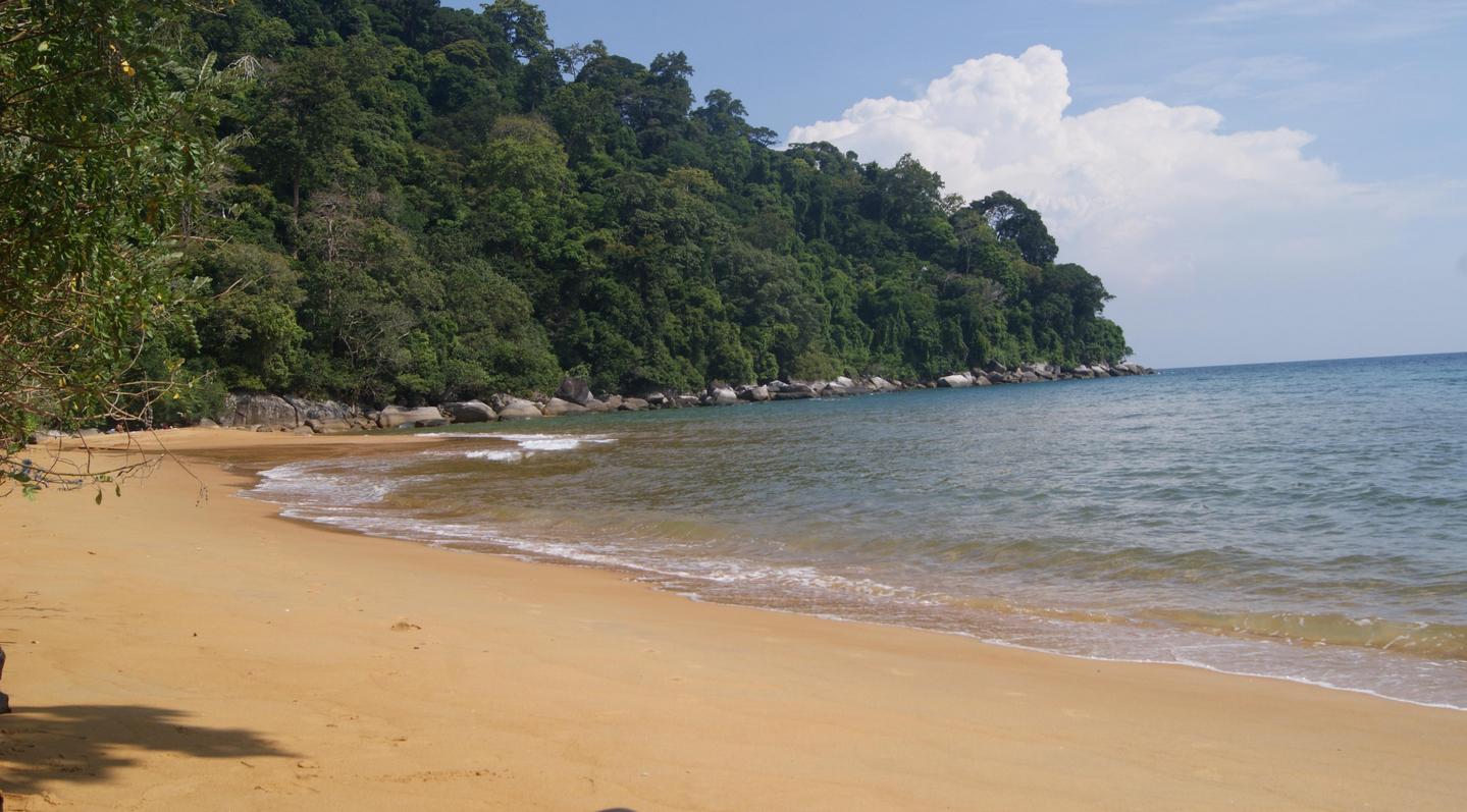Пляж острова Тиоман