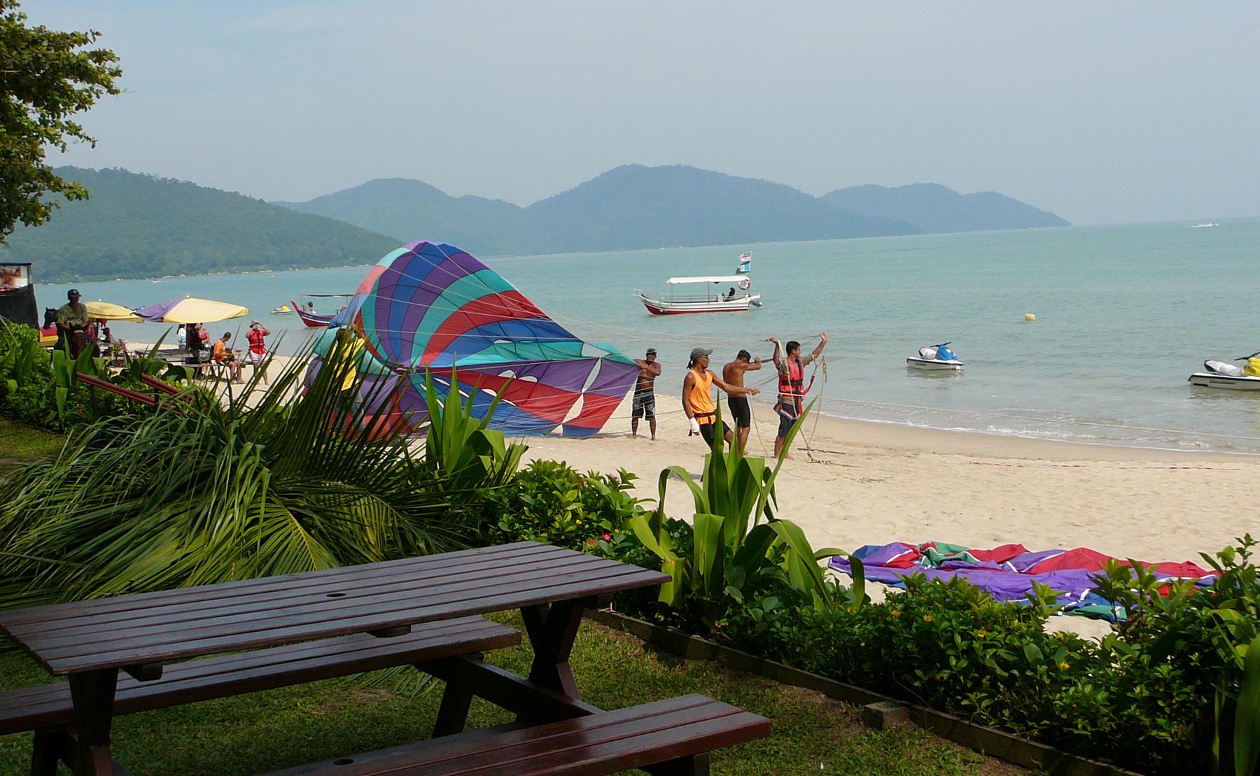 Пляжный отдых на Пенанге