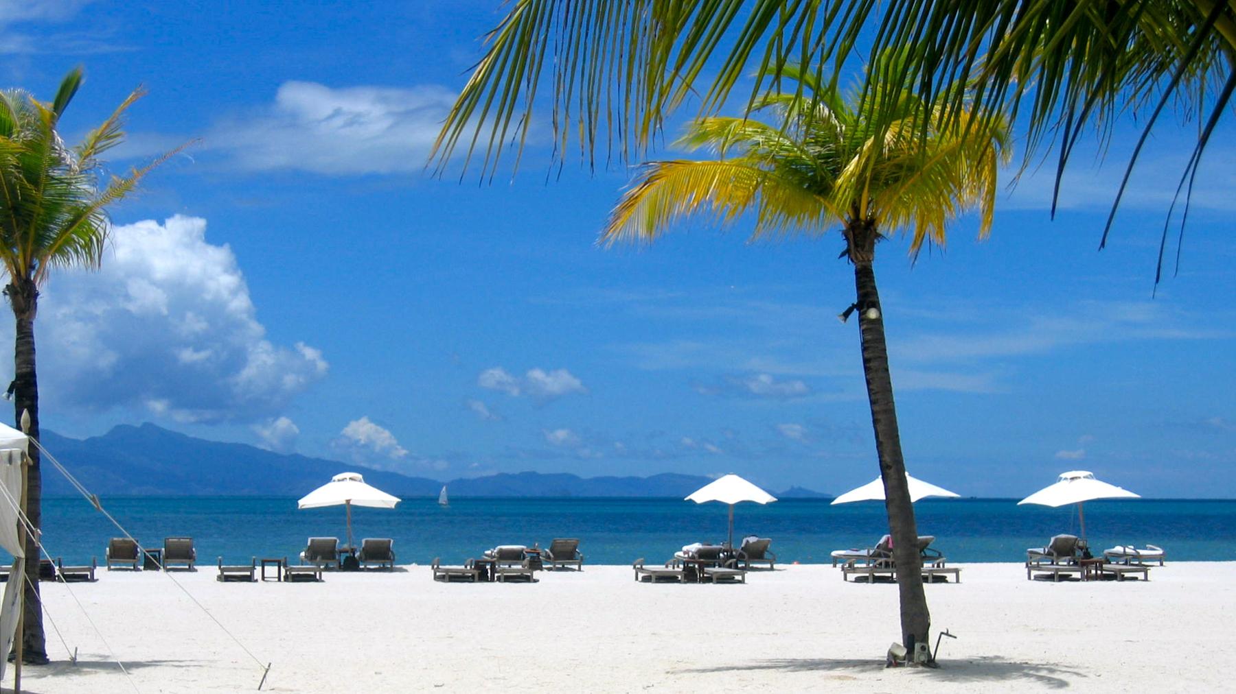 Пляж Лангкави в Малайзии