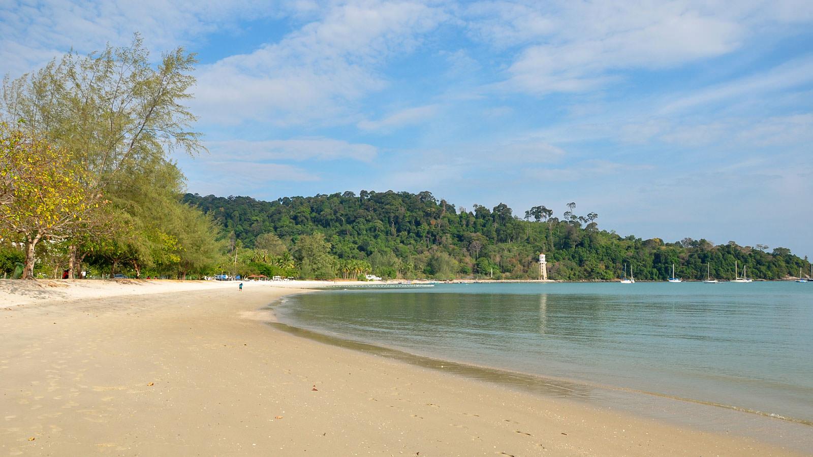 Пляж Pantai Kok