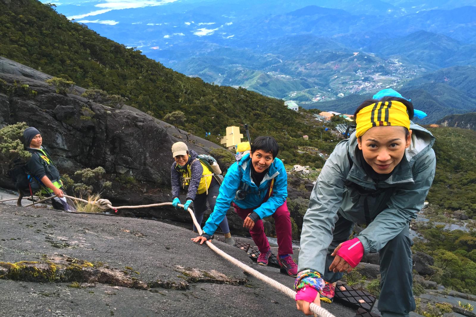 Подьем на гору Kinabalu