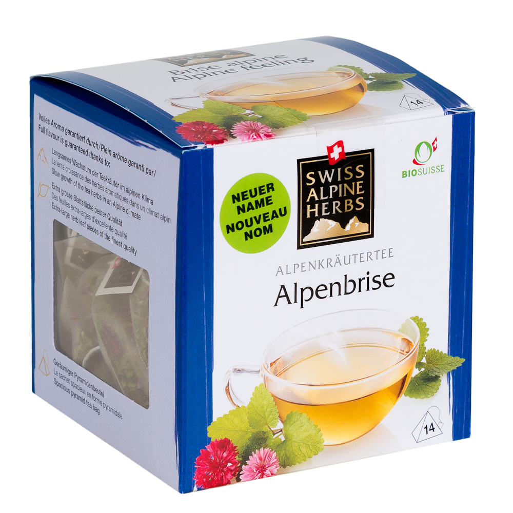 Травяной швейцарский чай