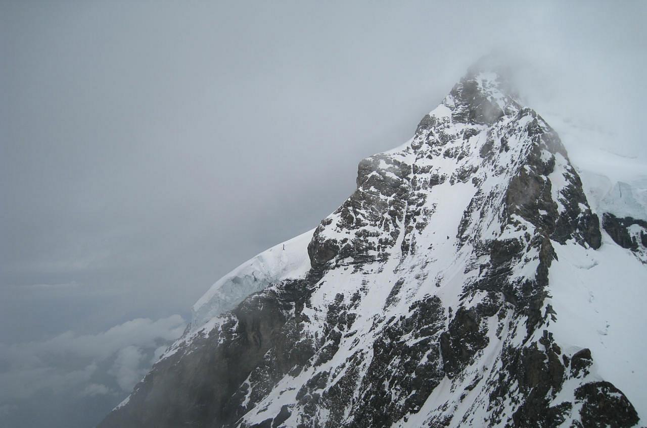 Туман на Юнгфрау