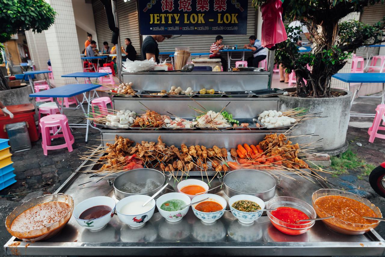 Уличная еда на Пенанге