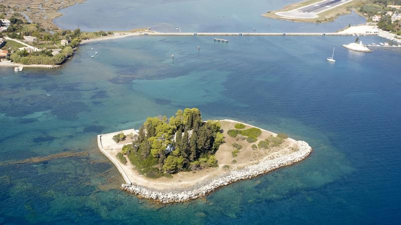Вид на мышиный остров сверху
