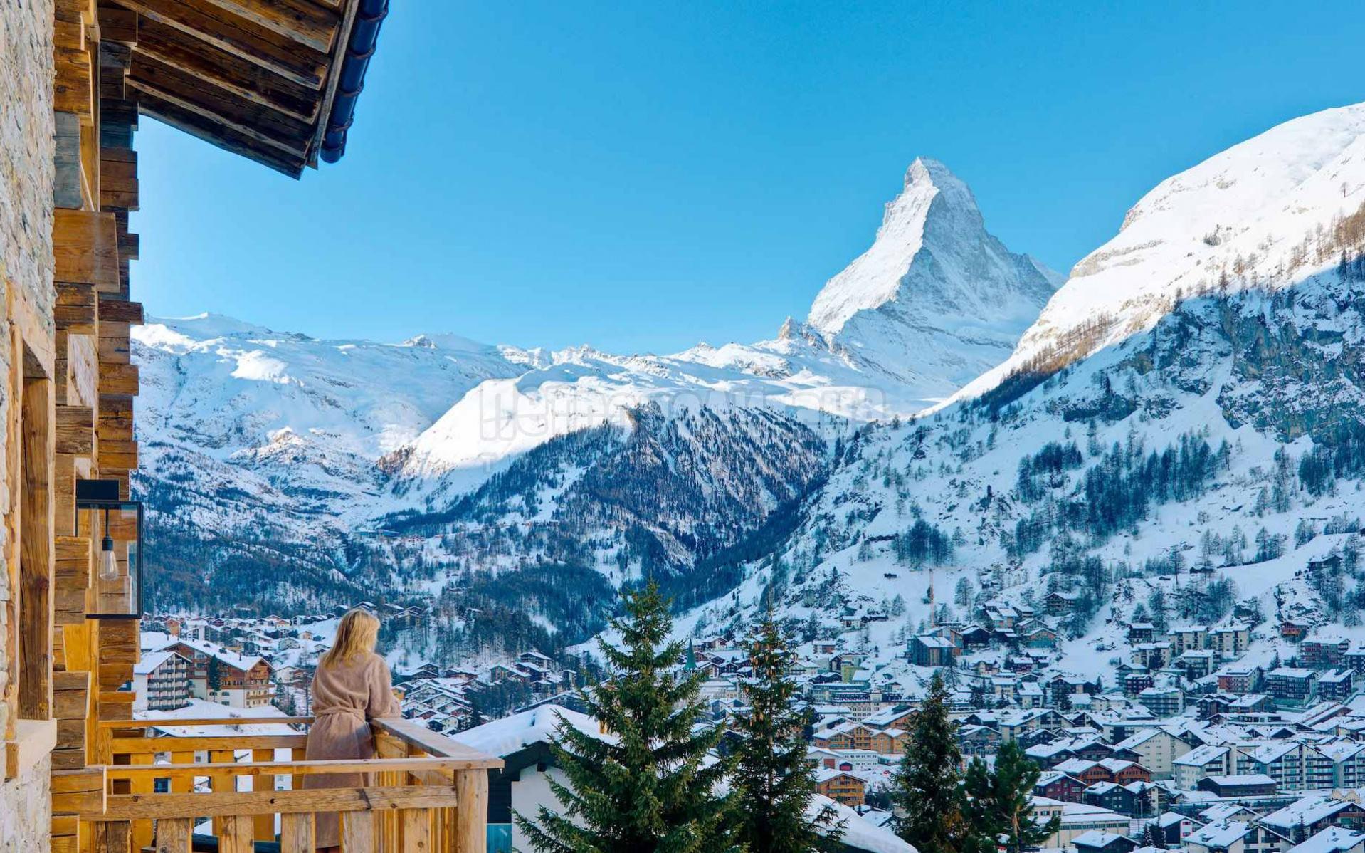 Церматт - самый лучший горнолыжный курорт Швейцарии