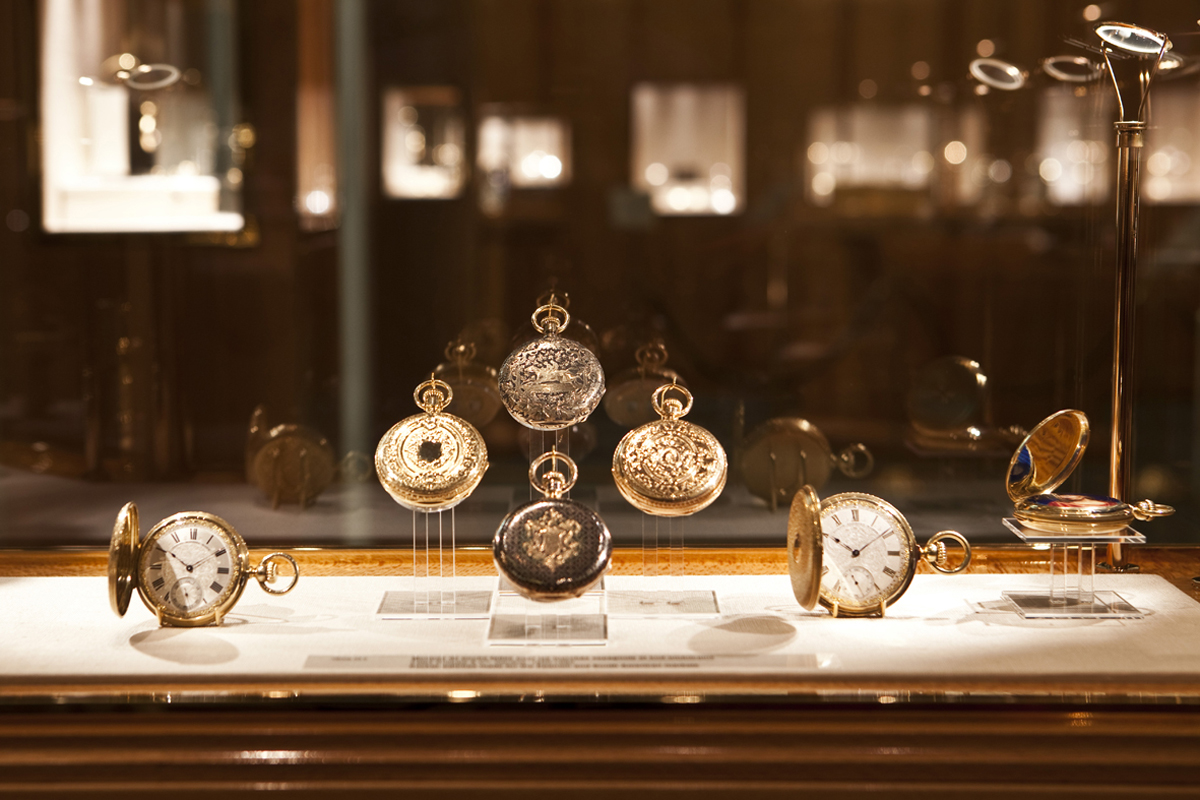 Часы в музее часов фирмы Patek Philippe