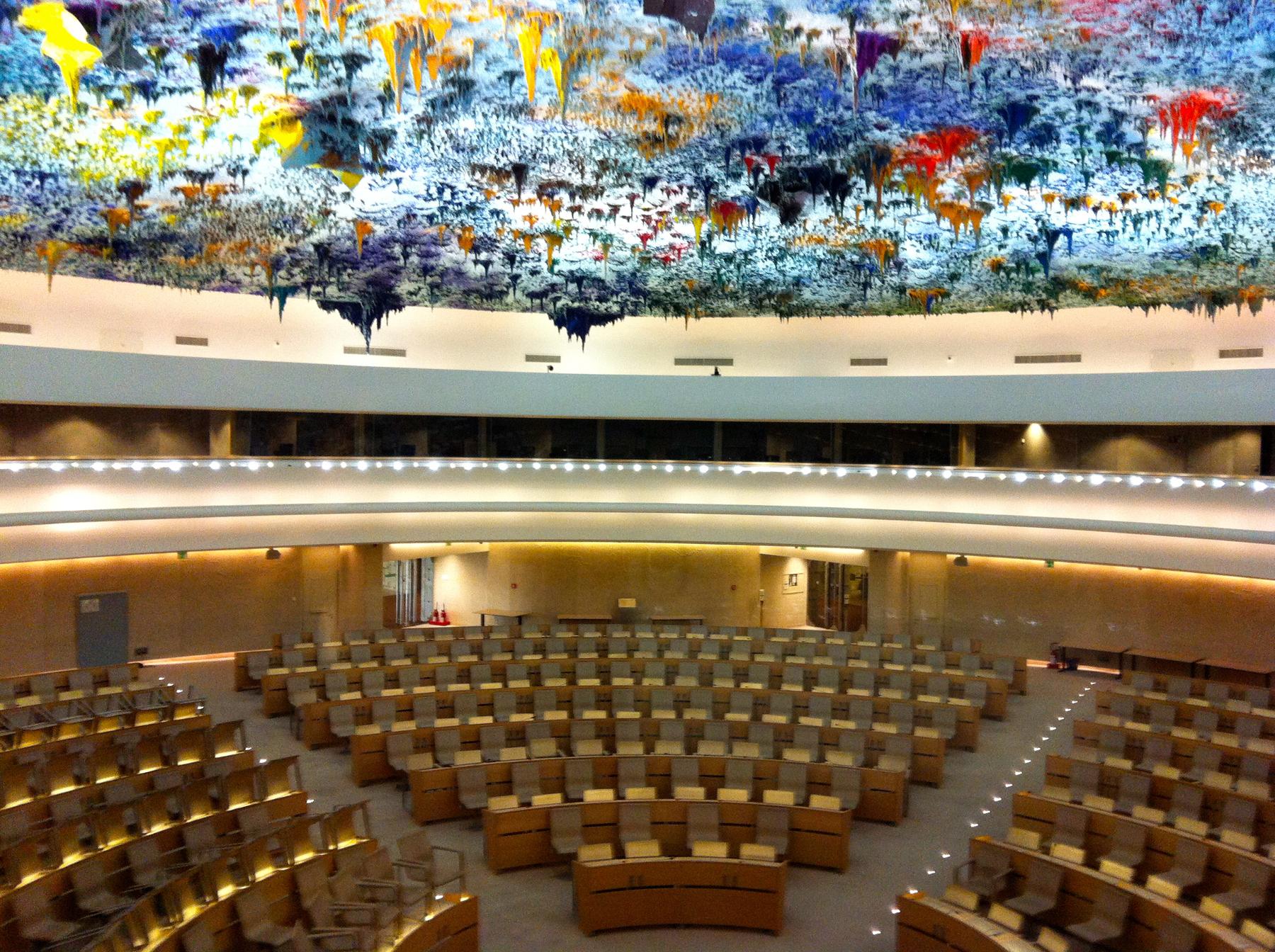 Экскурсия в Дворце Наций