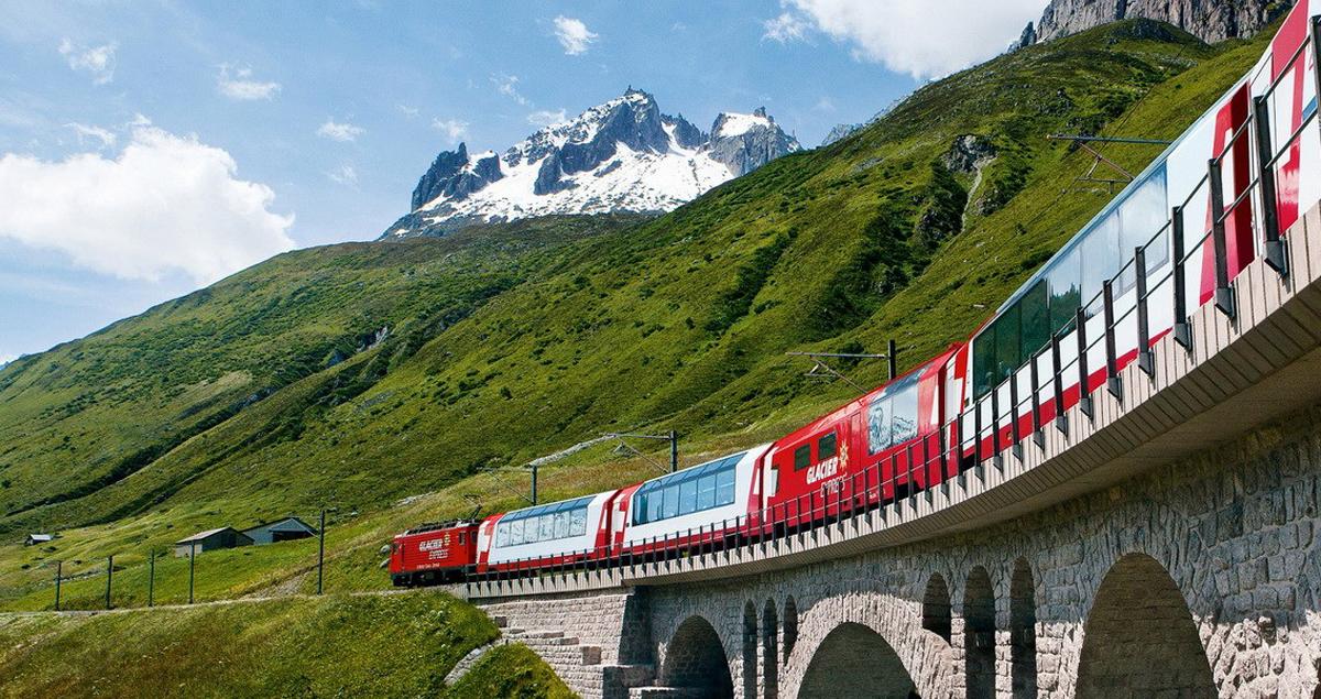 Поезд Цюрих-Церматт