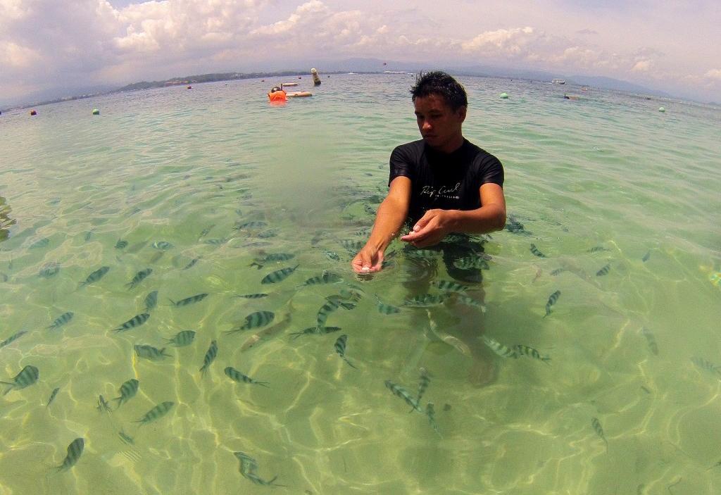 Прозрачное море парка Тунку Абдул Рахман