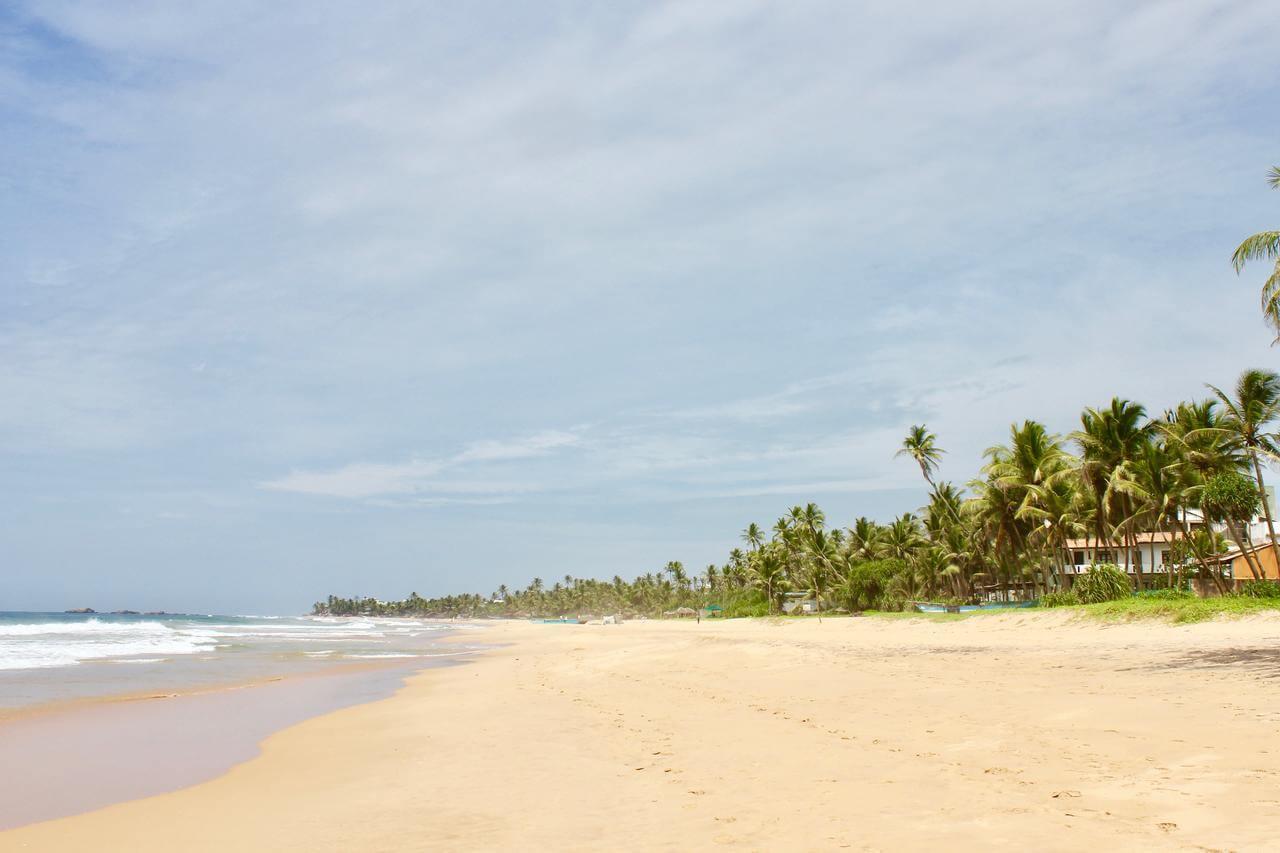 Narigama Beach утром
