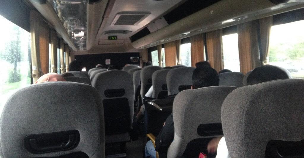 В автобусе Куала-Лумпур – Пенанг