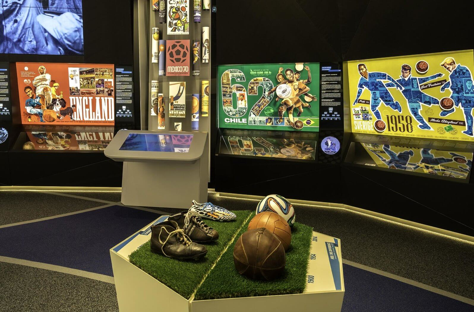 В музее ФИФА (FIFA World Football Museum)