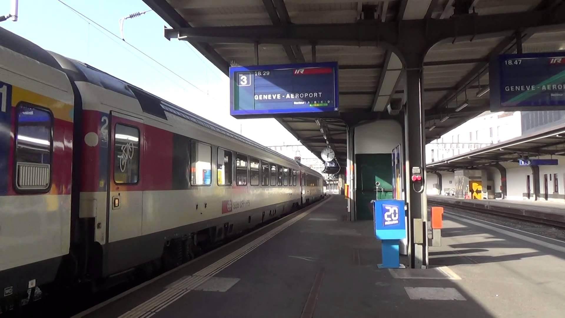 ЖД станция Genève-Aéroport