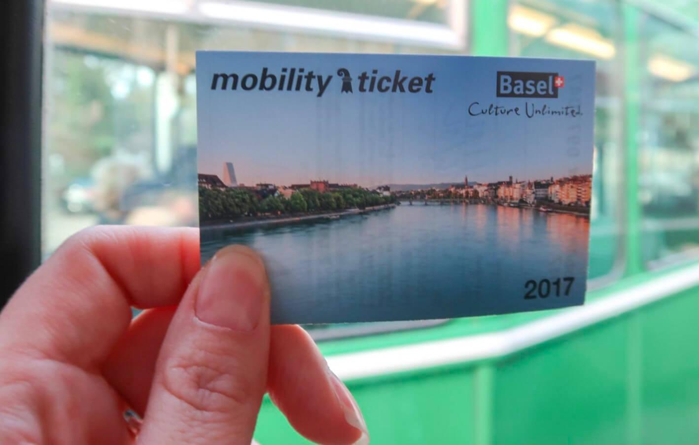 Карта бесплатного пользования общественным транспортом - Mobility Ticket