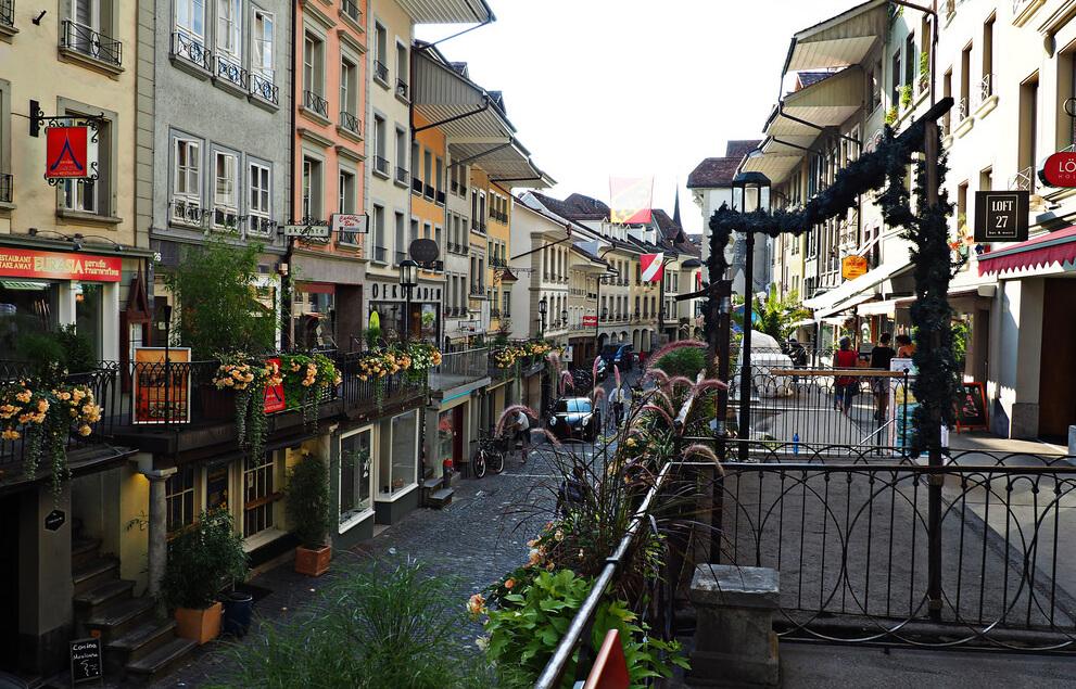 Прогулка по улице Obere Hauptgasse