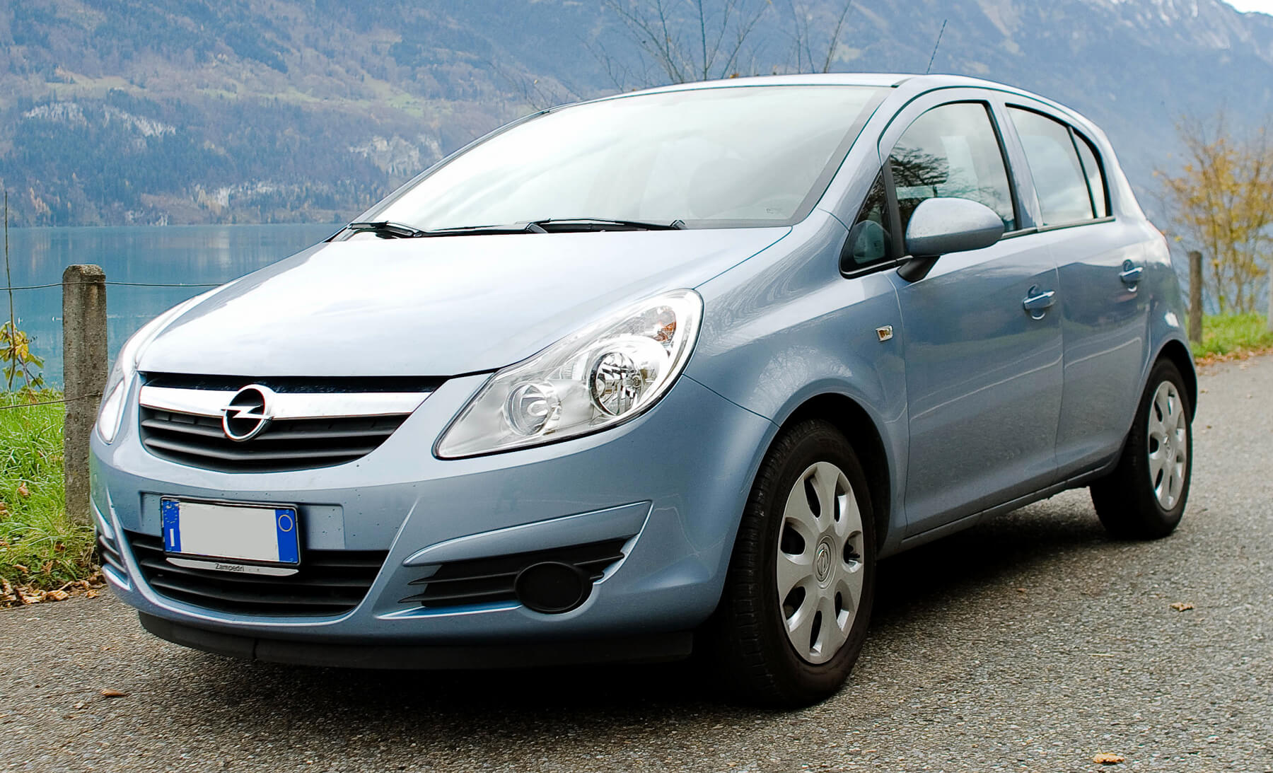 Арендованное авто Opel Corsa