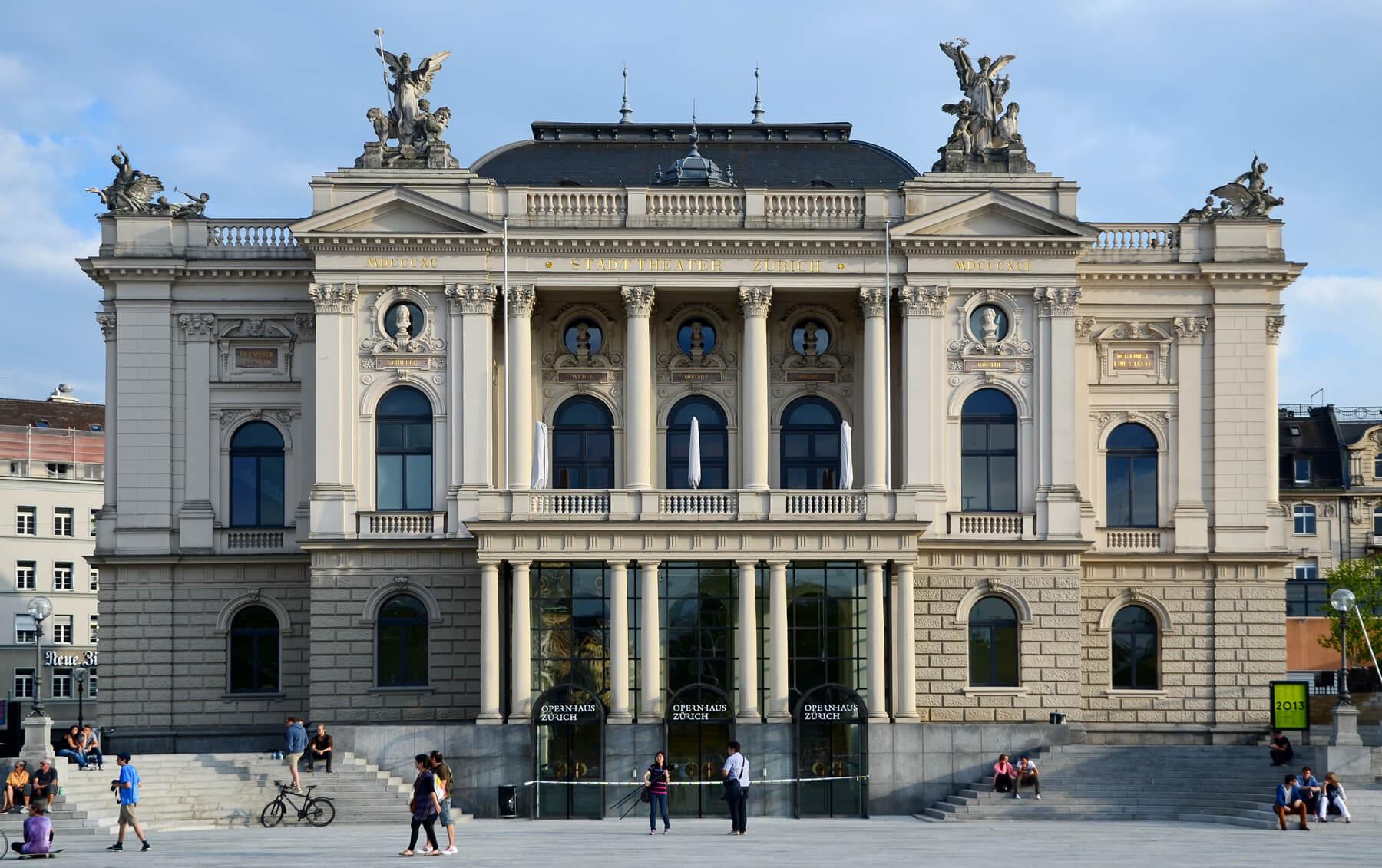 Цюрихская опера (Opernhaus Zurich)